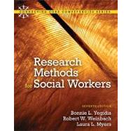 Research Methods for Social Workers by Yegidis, Bonnie L.; Weinbach, Robert W.; Myers, Laura L., 9780205820115