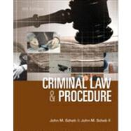 Criminal Law and Procedure by Scheb, John M.; Scheb, II, John M., 9781285070117