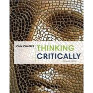 Thinking Critically by Chaffee,John, 9781285430119