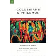 Colossians and Philemon by Wall, Robert W., 9780830840120