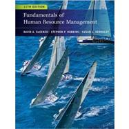 Fundamentals of Human Resource Management by Decenzo, David A.; Robbins, Stephen P.; Verhulst, Susan L., 9780470910122