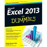 Excel 2013 for Dummies by Harvey, Greg, 9781118510124