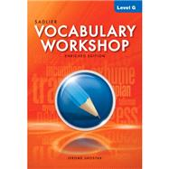 Vocabulary Workshop: Common Core Enriched Edition Level G by Shostak, Jerome, 9780821580127