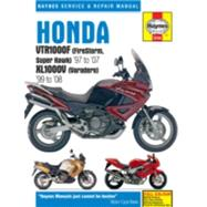 Haynes Honda Vtr1000f Firestorm, Super Hawk '97 to '07 Kl1000v Varadero '99 To'08 Repair Manual by Editors of Haynes Manuals, 9781785210129
