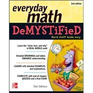 Everyday Math Demystified, 2nd Edition by Gibilisco, Stan, 9780071790130