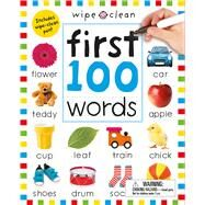 Wipe Clean: First 100 Words (Enclosed Spiral Binding) by Priddy, Roger, 9780312520137