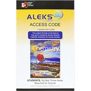 ALEKS 360 Access Card (1 Semester) for Introduction to Chemistry by Bauer, Rich; Birk, James; Marks, Pamela, 9781259290138