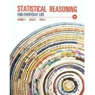 Statistical Reasoning for Everyday Life Plus NEW MyStatLab with Pearson eText -- Access Card Package by Bennett, Jeffrey O.; Briggs, William L.; Triola, Mario F., 9780321890139