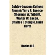 Goldey-beacom College Alumni by , 9781156280140