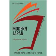 Modern Japan, Student Economy Edition: A Historical Survey by Hane,Mikiso, 9780813350141