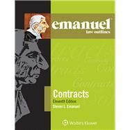 Emanuel Law Outlines for Contracts by Emanuel, Steven L., 9781454870142
