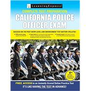 California Police Officer Exam by LearningExpress, LLC., 9781611030143