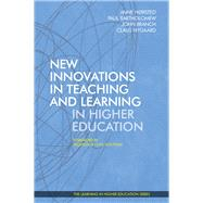 New Innovations in Teaching and Learning in Higher Education by Branch, John; Hørsted, Anne; Nygaard, Claus, 9781911450146