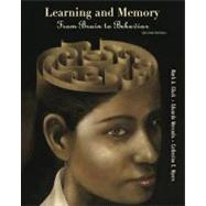 Learning and Memory From Brain to Behavior by Gluck, Mark A.; Mercado, Eduardo; Myers, Catherine E., 9781429240147