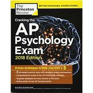 Cracking the AP Psychology Exam, 2018 Edition by PRINCETON REVIEW, 9781524710149