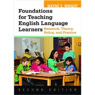 Foundations for Teaching English Language by Wright, Wayne E., 9781934000151