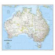 Australia Classic by National Geographic Maps, 9780792250159
