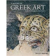 A History of Greek Art by Stansbury-o'donnell, Mark D., 9781444350159