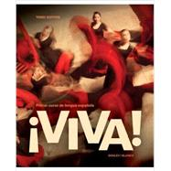 ¡Viva!, 3rd Edition Textbook with Supersite Code by Vista Higher Learning, 9781626800168