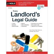 Every Landlord's Legal Guide by Stewart, Marcia; Warner, Ralph; Portman, Janet, 9781413320169