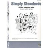 Simply Standards by Springer, Mike (ADP), 9780739050170
