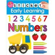 Sticker Early Learning: Numbers by Priddy, Roger, 9780312520175