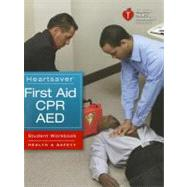 Heartsaver First Aid CPR AED Student Workbook (Item #90-1026)