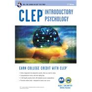 CLEP Introductory Psychology with Online Practice Exams by Sharpsteen, Don J., 9780738610177