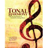 Workbook for Tonal Harmony, 7th Edition by Stefan Kostka, 9780077410179