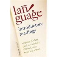 Language Introductory Readings by Clark, Virginia; Eschholz, Paul; Rosa, Alfred; Simon, Beth Lee, 9780312450182