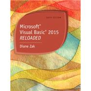 Microsoft Visual Basic 2015 RELOADED by Zak, Diane, 9781285860190