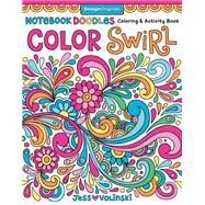 Notebook Doodles Color Swirl by Volinski, Jess, 9781497200197