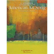 The G. Schirmer Collection of American Art Song by Walters, Richard, 9780634060199