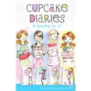 Cupcake Diaries 4 Books in 1! #2 Katie, Batter Up!; Mia's Baker's Dozen; Emma All Stirred Up!; Alexis Cool as a Cupcake by Simon, Coco, 9781481460200