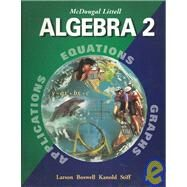 Algebra 2, Grades 9-12: Mcdougal Littell High School Math