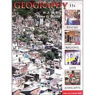 Geography: Realms, Regions, and Concepts by de Blij, 9781118790205