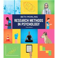 Research Methods in Psychology, 3rd edition by Morling, 9780393630206