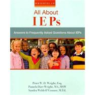Wrightslaw : All about IEPs by Peter W.D. Wright, Pamela Darr Wright, 9781892320209