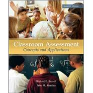 Classroom Assessment by Russell, Michael; Airasian, Peter, 9780078110214