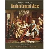 Introduction to Western Concert Music by Ambrosini, Armand; Lee, Michael, 9781465270214