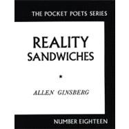 Reality Sandwiches, 1953-1960 by Ginsberg, Allen, 9780872860216
