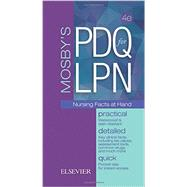 Mosby's PDQ for LPN: Practical, Detailed, Quick: Nursing Facts at Hand by Langford, Rae W., R.N., 9780323400220