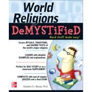 World Religions DeMYSTiFieD by Moosa, Ebrahim; Cleary, Matt, 9780071770224