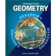 Geometry, Grades 9-12: Mcdougal Littell High School Math by Unknown, 9780618250226