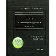 Torts: A Contemporary Approach by Duncan, Meredith J.; Turner, Ronald, 9780314280237