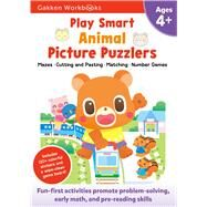 Play Smart Animal Picture Puzzlers 4+ by Gakken, 9784056300239