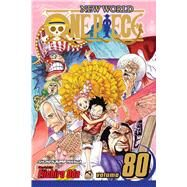 One Piece 80 by Oda, Eiichiro, 9781421590240