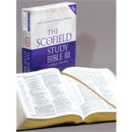 The Scofield� Study Bible III, Large Print, NIV by , 9780195280241