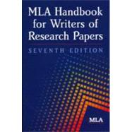 MLA Handbook for Writers of Research Papers by Gibaldi, Joseph, 9781603290241