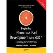 Beginning iPhone 4 Development by Nutting, Jack, 9781430230243